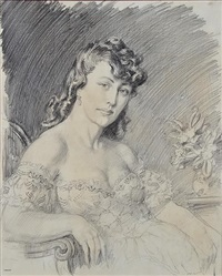 phyllis by norman alfred williams lindsay
