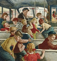 rowdy bus ride by amos sewell