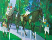 les chevaux by camille hilaire