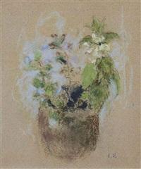 bouquet de fleurs by edouard vuillard