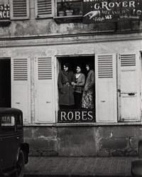 façades de paris, robes by andré kertész