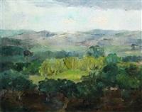 landscape by gheorghe tomaziu