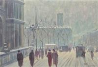 winter in paris by henri visconte