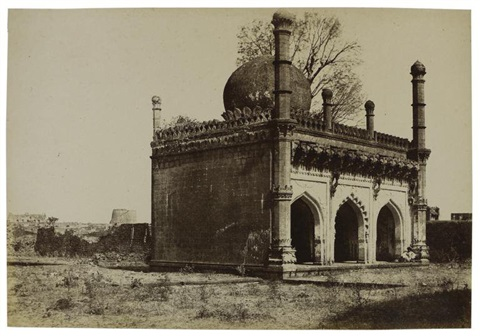 mosque of yakoot dabooli india by thomas biggs