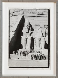 abu simbel, nubia, egypt by richard avedon