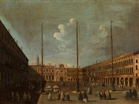 piazza san marco, venice by francesco tironi
