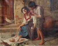 happy family by carlo facchinetti
