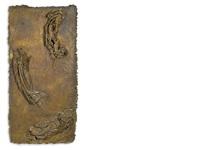 studio per un pannello per la porta della basilica di san pietro, roma: la morte della vergine i by giacomo manzù