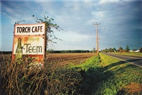 untitled, mississippi (torch cafe billboard) (from dust bells, volume ii) by william eggleston