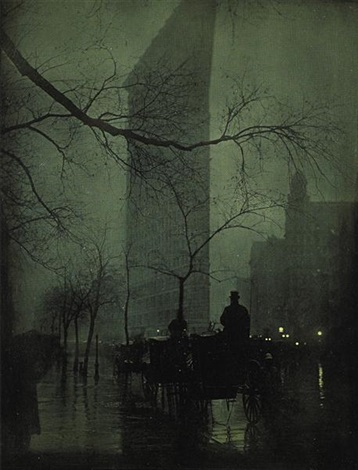 the flatiron evening 3 works by edward steichen