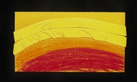plate j, from indian views by howard hodgkin