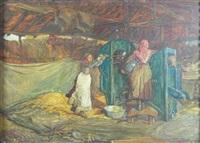 mustard thrashing by robert walker macbeth