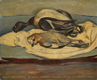 nature morte by emile sabouraud