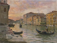 venezia, il canal grande by giovanni campriani