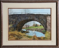 bridge arch - jeffersonville, ny by michael davidoff