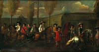 école d'équitation by nicolaas van eyck