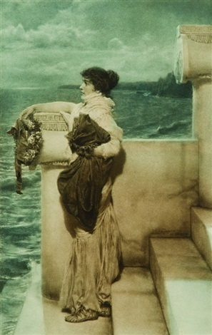 the last watch of hero by sir lawrence alma tadema