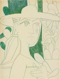 le peintre àu vert by françoise gilot