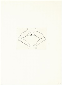 ohne titel by louise bourgeois