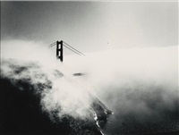 golden gate bridge, san francisco, california (from song without words) by minor white