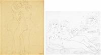 levana; brunalba (2 works) by tono zancanaro