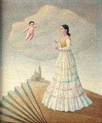 anunciación con escalera en abanico by emilio rosenblueth