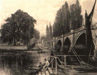 kingston bridge by strafford newmarch