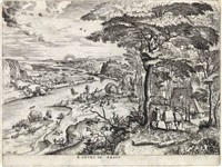 euntes in emaus by pieter brueghel the elder