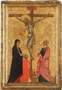 di kreuzigung / crocifissione by pietro lorenzetti