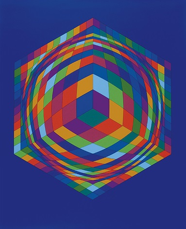 kostka by victor vasarely