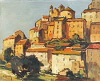 village méditerranéen by pierre bach