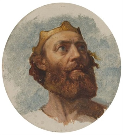 charlemagne study by paul hippolyte delaroche