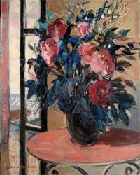 bouquet sur une table by alain fournier
