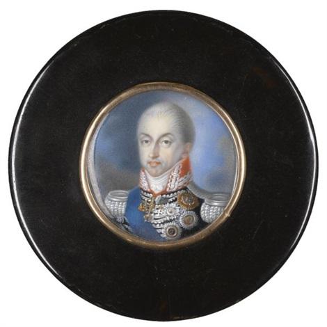 portrait of carlo felice, king of sardinia by italian school-piedmont (19)