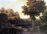 paysage antique by pierre-etienne lesueur