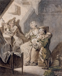 scène familiale by etienne aubry