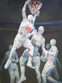 basketball by budi ubrux