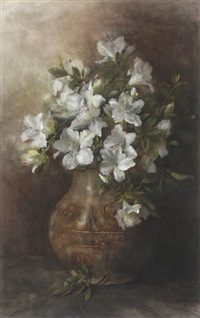 still life of flowers by hendrik willem cornelder