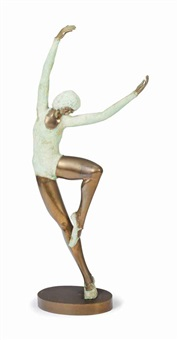 untitled (dancer) by prince monyo mihailescu-nasturel