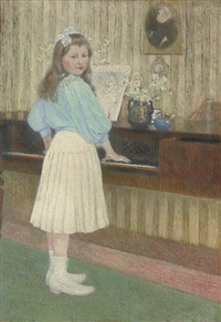 the first piano lesson by charles dehoy