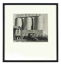 untitled (three silos) by edward w. quigley