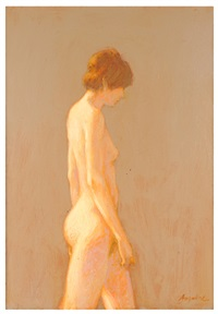 female nude by william anzalone