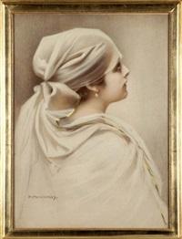 portret dziewczyny by piotr stachiewicz