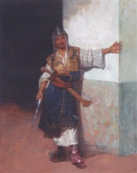 le garde oriental by francisco peralta del campo