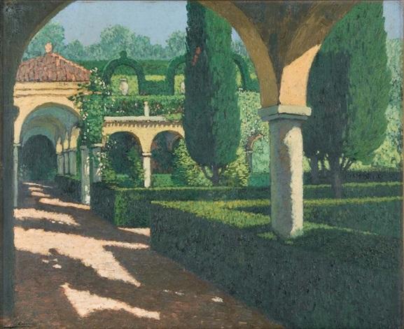 jardin aux arcades, le cloître by pierre labrouche