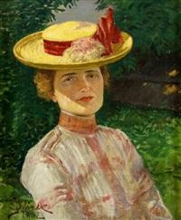 dáma v klobouku by josef jelinek