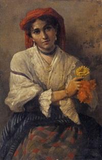 ritratto di una donna by vincenzo volpe