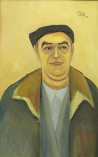 selfportrait by constantin piliuta