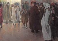sortie de l'opera by leo gestel