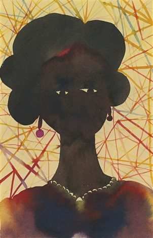 untitled old san juan kiel by chris ofili